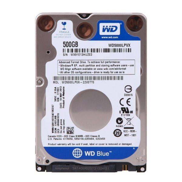 Disque dur WD 500 Blue 2.5″